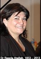 Dr Rawda Bishara-Atallah (1953-2013)
