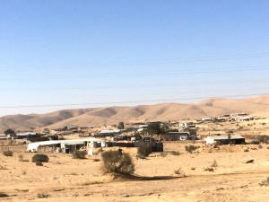 Rahmeh, an 'unrecognised village' in the Naqab
