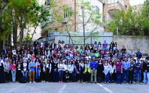 Students of the 2014-15 Scholarship Programme